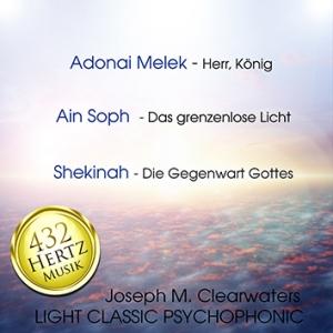 CD: Adonai Melek - Ain Soph - Shekinah | 432 Hertz-Musik