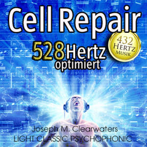 CD: Cell Repair - 528 Hertz-Musik