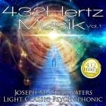 CDs 432 Hertz-Musik: Vol. 1-3 je